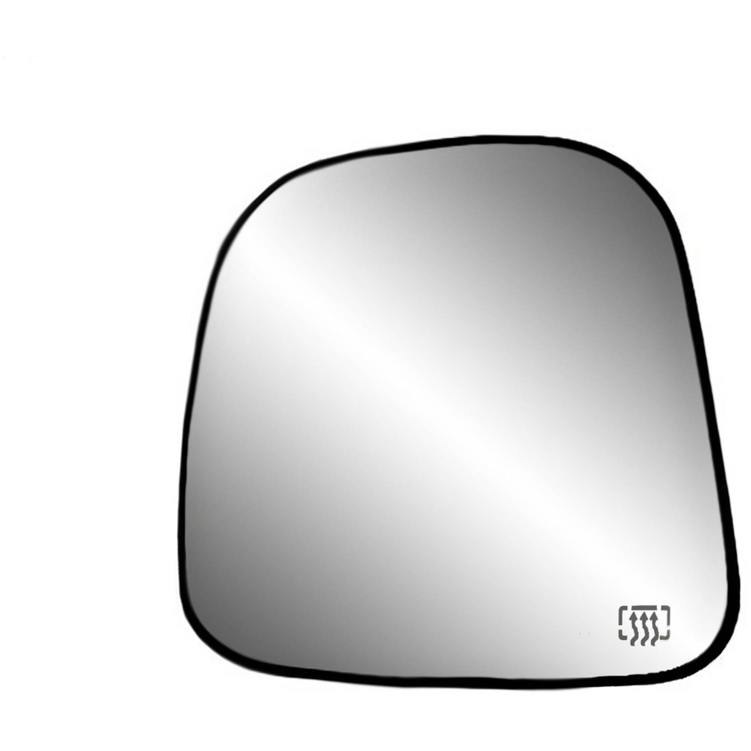 33196 - Fit System 96-02 Chevrolet Express / GMC Savana Heated Replacement Mirror Glass with backing plate, Driver Side - check description for fitment