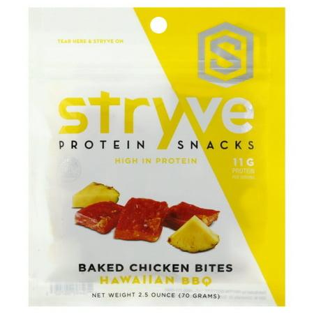 Stryve Foods - Baked Chicken Protein Bites Hawaiian BBQ - 2.5 - Hawaiian Foods