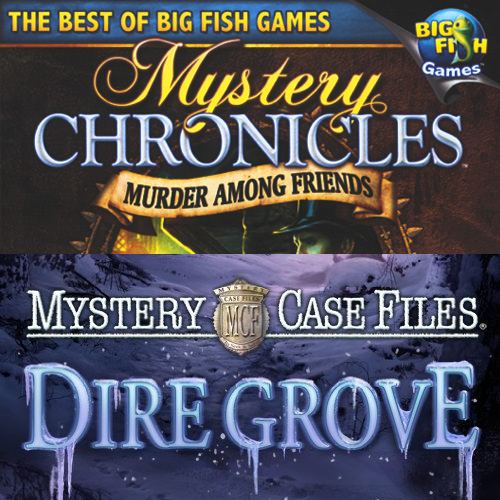 Mystery Case Files 2-Pack Dire Grove and Mystery Chronicles- XSDP -58157 - Mystery Case Files: Dire Grove and Mystery Chronicles: Murder Among Friends combine two hidden object mysteries in one f
