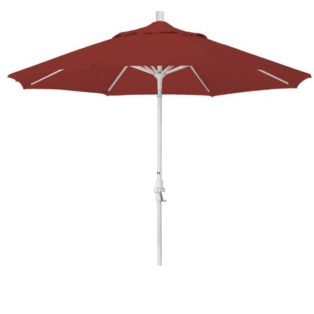 Eclipse Collection 9 Aluminum Market Umbrella Collar Tilt - Sand/Pacifica/Tuscan