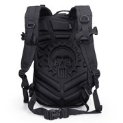 Exo-Tek 24 MOLLE Tactical Backpack - Use as Bug Out Bag, Tactical Bag, Survival Bag, Rucksack, Army Military Backpack - Heavy-Duty, Ergonomic Back Padding, Mil-Spec MOLLE