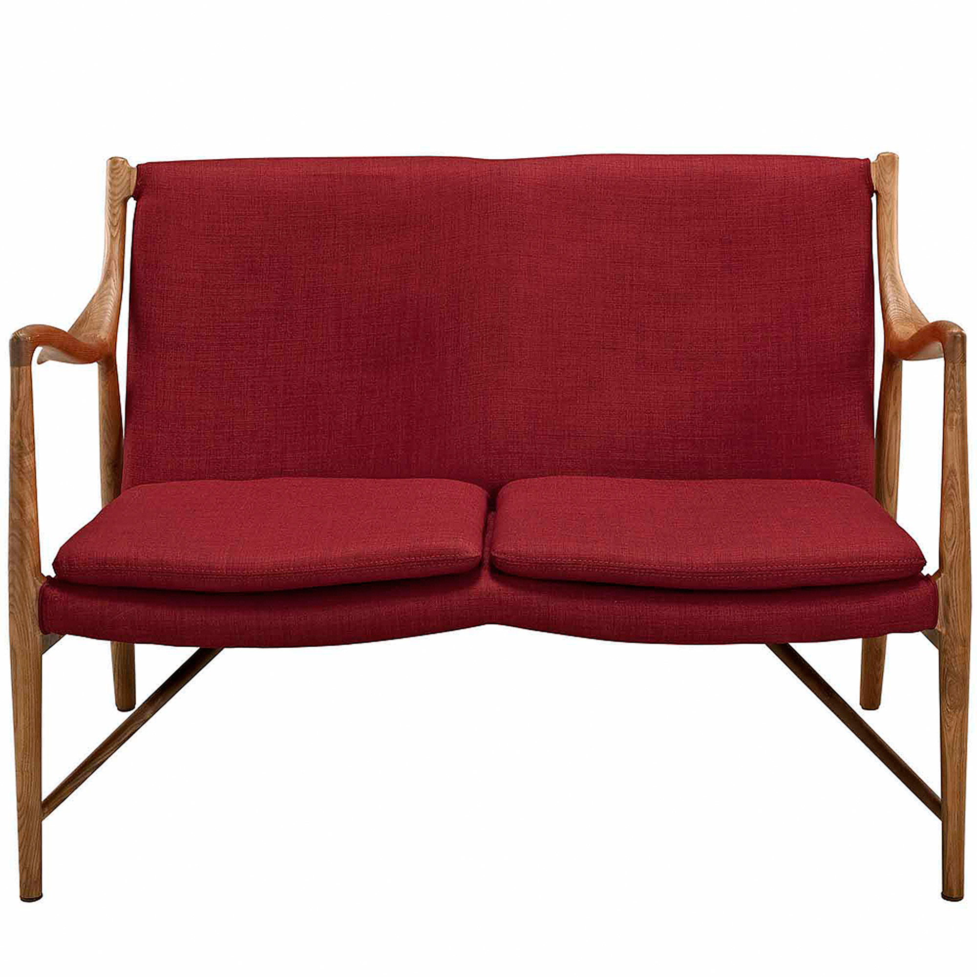 Modway Makeshift Upholstered Loveseat, Multiple Colors