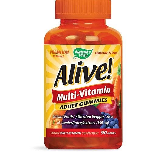Nature's Way Alive! Multi-Vitamin Adult Gummies, 90 Ct