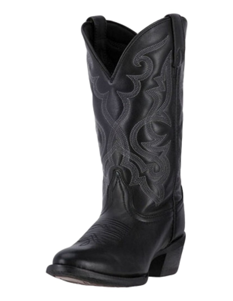 Laredo Western Boots Womens 11 Maddie Cowboy Round Toe Black 51110 by Laredo