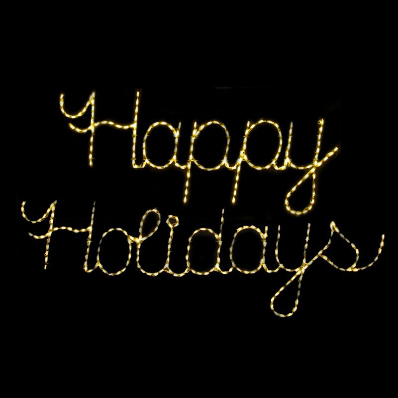 Brite Ideas Happy Holidays - 335 Bulbs-Clear Lights
