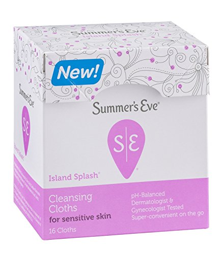 6 Pack - Summers Eve Cleansing Cloth for Sensitive Skin, Island Splash 16 Each Eye Mask,Natural silk sleep mask & blindfold, super-smooth eye mask for A Full Nights Sleep, Comfortable and Super Soft Eye Mask with Adjustable Strap,Ultimate Sleeping Aid, Blindfold, Blocks Light