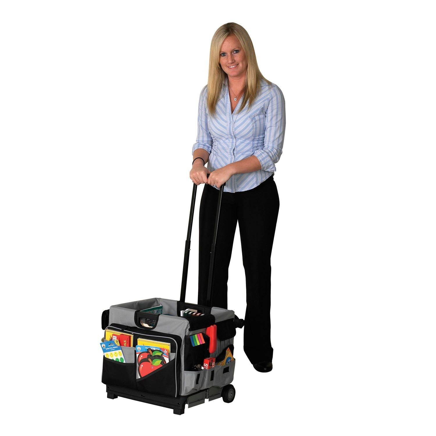 Early  Universal Rolling Cart and Organizer Set, 16.5'' x...