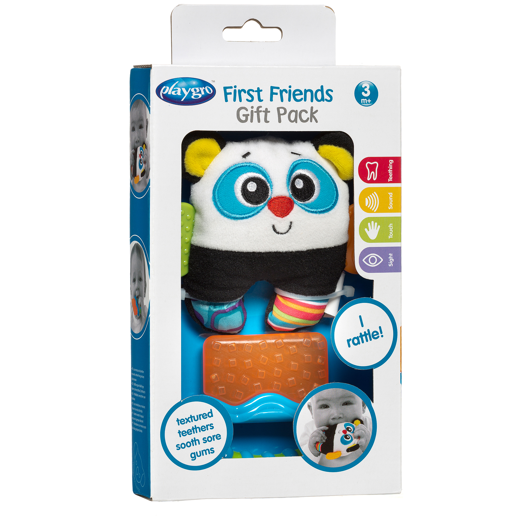 Playgro First Friends Gift Pack, Blue