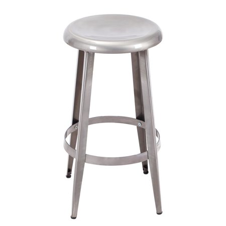 Magnificent Joveco Metal Round Top Backless 26 Inch Stool Gmtry Best Dining Table And Chair Ideas Images Gmtryco