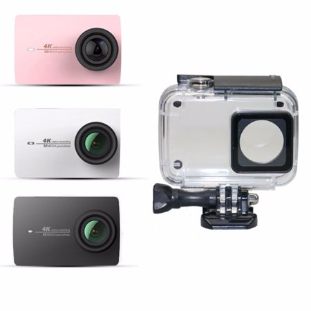 Waterproof Underwater Housing Protective Case Cover For Xiaoyi 4K Action Camera - image 8 de 9