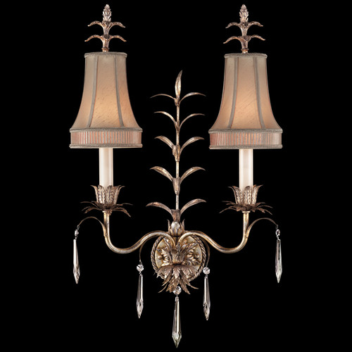 Fine Art Lamps Pastiche 2 Light Wall Sconce