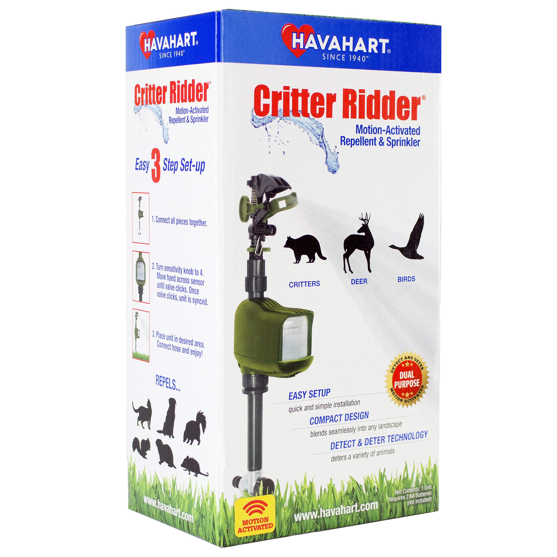 Critter Ridder Motion-Activated Animal Repellent & Sprinkler