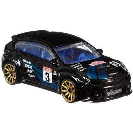 Hot Wheels Backroad Rally Subaru WRX STI Vehicle, 1:64 (Wrx Sti Wagon)