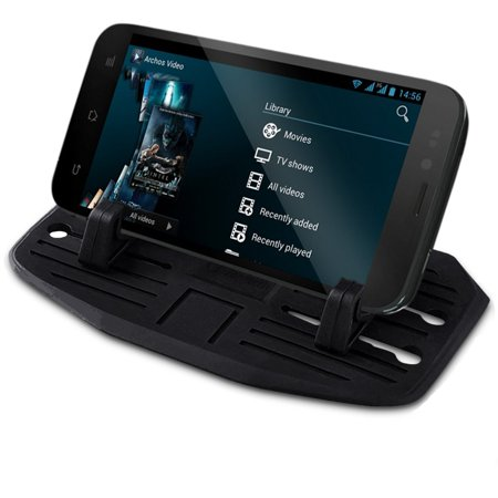 Zone Tech Silicone Pad Dash Mat Cell Phone Mount Holder -  Cell Phone Mount Holder Cradle Dock For Phone