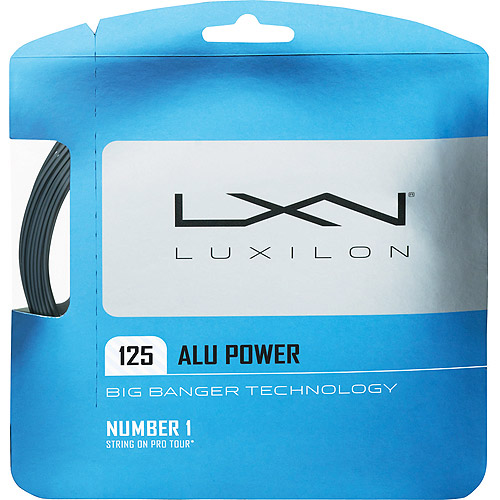 LUXILON Big Banger ALU Power Ice 1.25 Tennis String Set