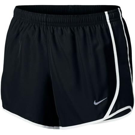 Nike Girls' Dry Tempo Running Shorts - Black/Black - Size S