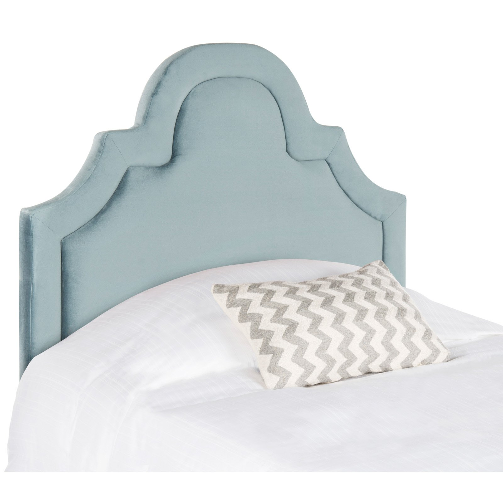 Safavieh Kerstin Arched Headboard, Available in Multiple Colors and Sizes