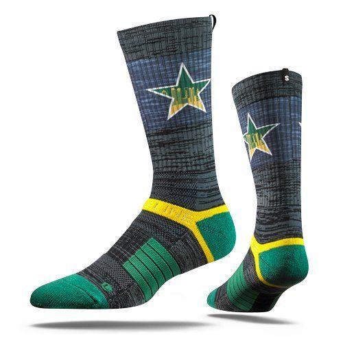 Strideline NHL Dallas Stars City Star - Adult Crew Socks