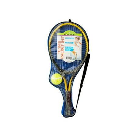 Bulk Buys OD917-2 Kids Tennis Racket Set With