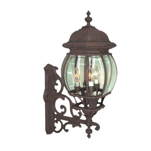 "Woodbridge Lighting 61007-RTP Basic Outdoor Single Light 10-3/4"" Wide Wall Sconc"