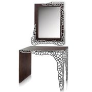 Modern Day Accents 6606 Om Colmena Honeycomb Wall Mirror