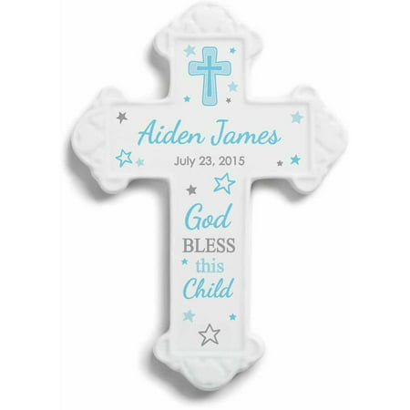 Personalized God Bless This Child Wall Cross For - God Wall Cross