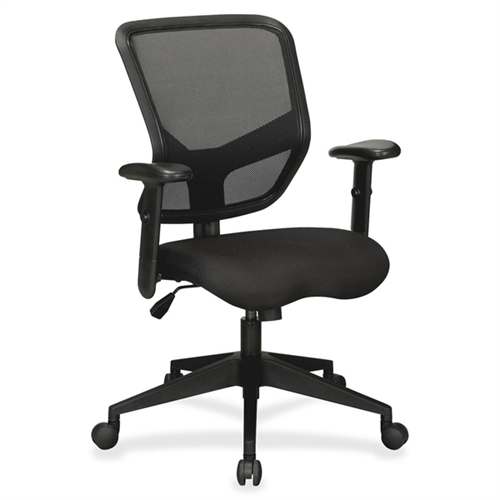 Lorell Executive Mesh Mid-Back Chair 84565