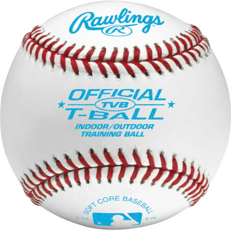 Rawlings Baseball TVB League Tee Balls Ages 6 & Under 12 Pack