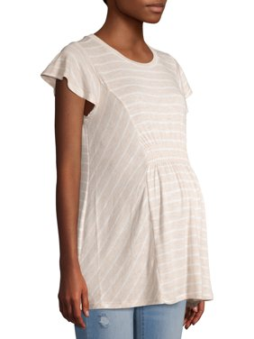 Time And Tru Maternity Smocked Front Top