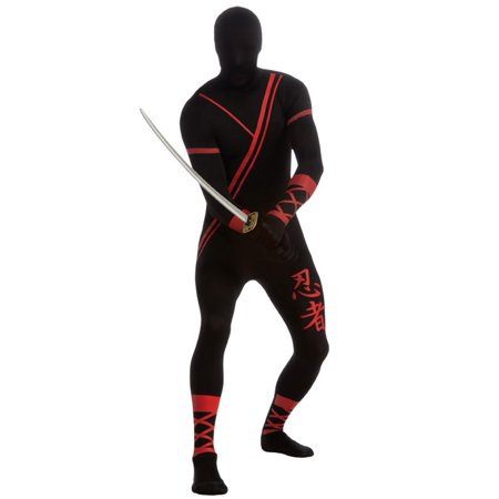 Ninja Skin Suit Costume for Adults
