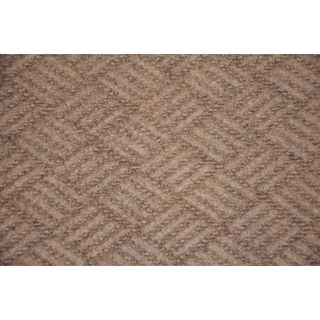 Dean Indoor/Outdoor Contour Beige Patio Deck Boat Entrance Area Rug/Carpet 6'x8' ()