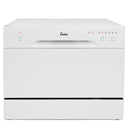 Ensue Countertop Dishwasher Energy Star Certified 6-Place 6-Program Setting,