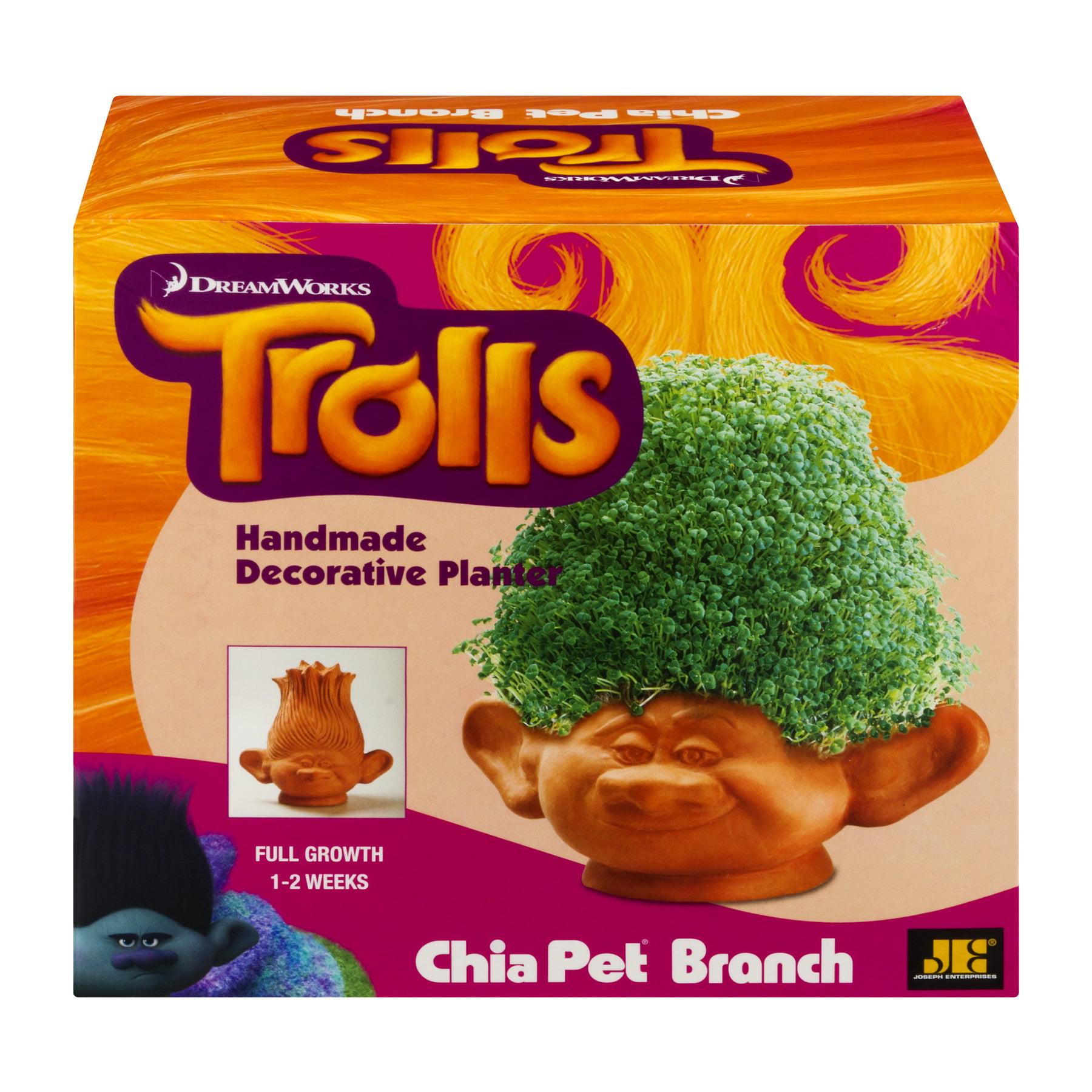 As Seen on TV - Chia Pet Branch DreamWorks Trolls Handmade Decorative Planter