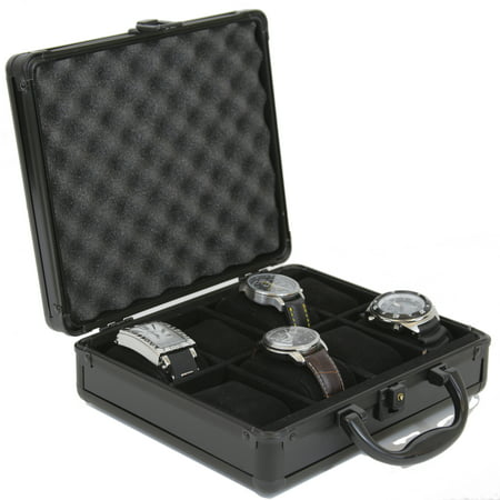 Techswiss - Watch Case for 8 Collectors Briefcase Store ...