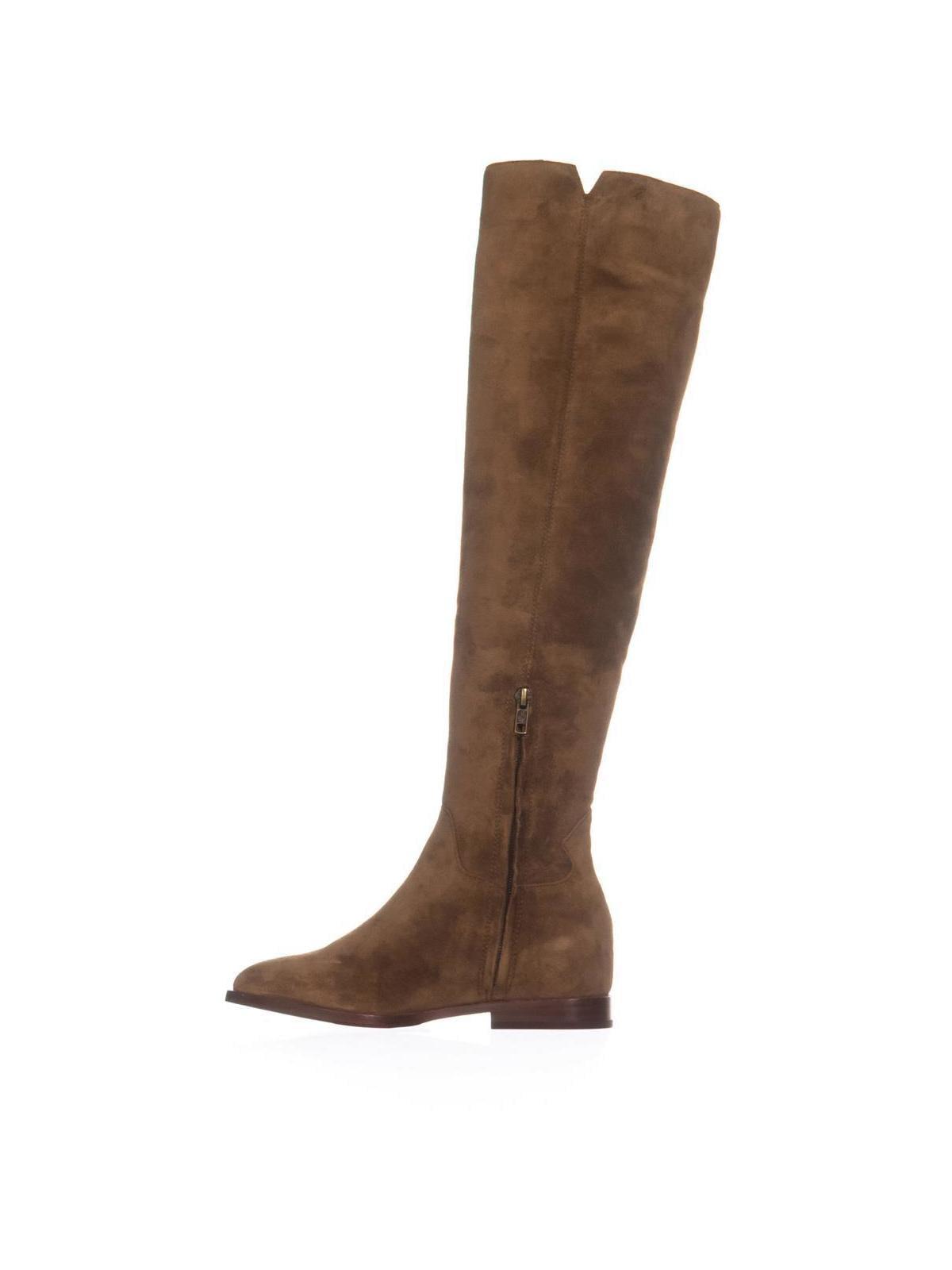 Womens Ash Jess Zip Over-The-Knee Zip Up Boots, Russet, 6 US / 36 EU