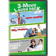 3-Movie Laugh Pack: Happy Gilmore / Billy Madison / I Now Pronounce You Chuck & Larry (DVD)