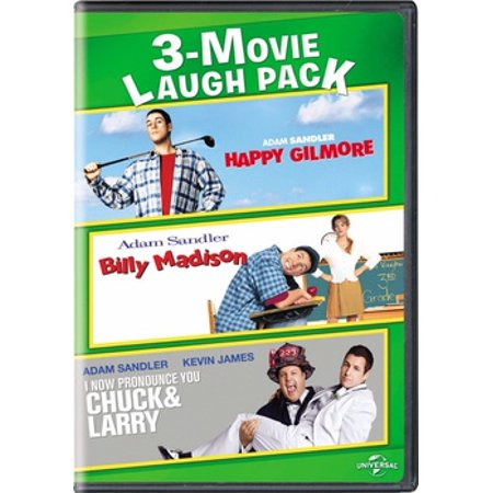 3-Movie Laugh Pack: Happy Gilmore / Billy Madison / I Now Pronounce You Chuck & Larry (DVD) (Kids Chuck Taylor)