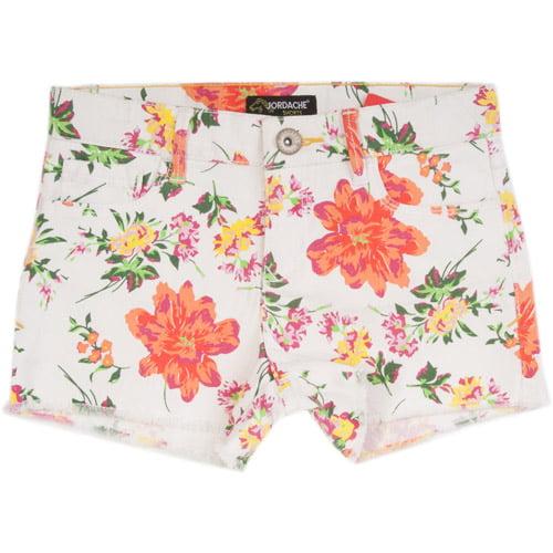 Jordace Girls' Print Cut Off Shorts
