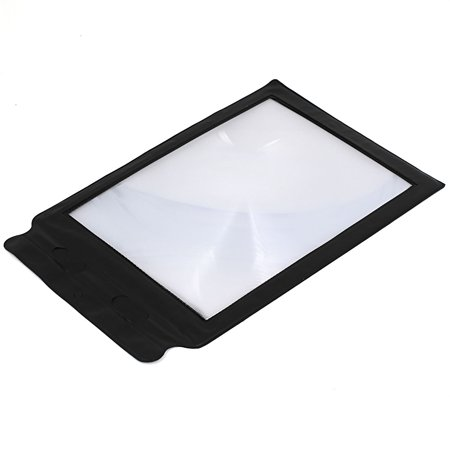 3X A4 Size Card Magnifying Fresnel Lens Magnifier Portable Flexible for Reading - image 2 of 2