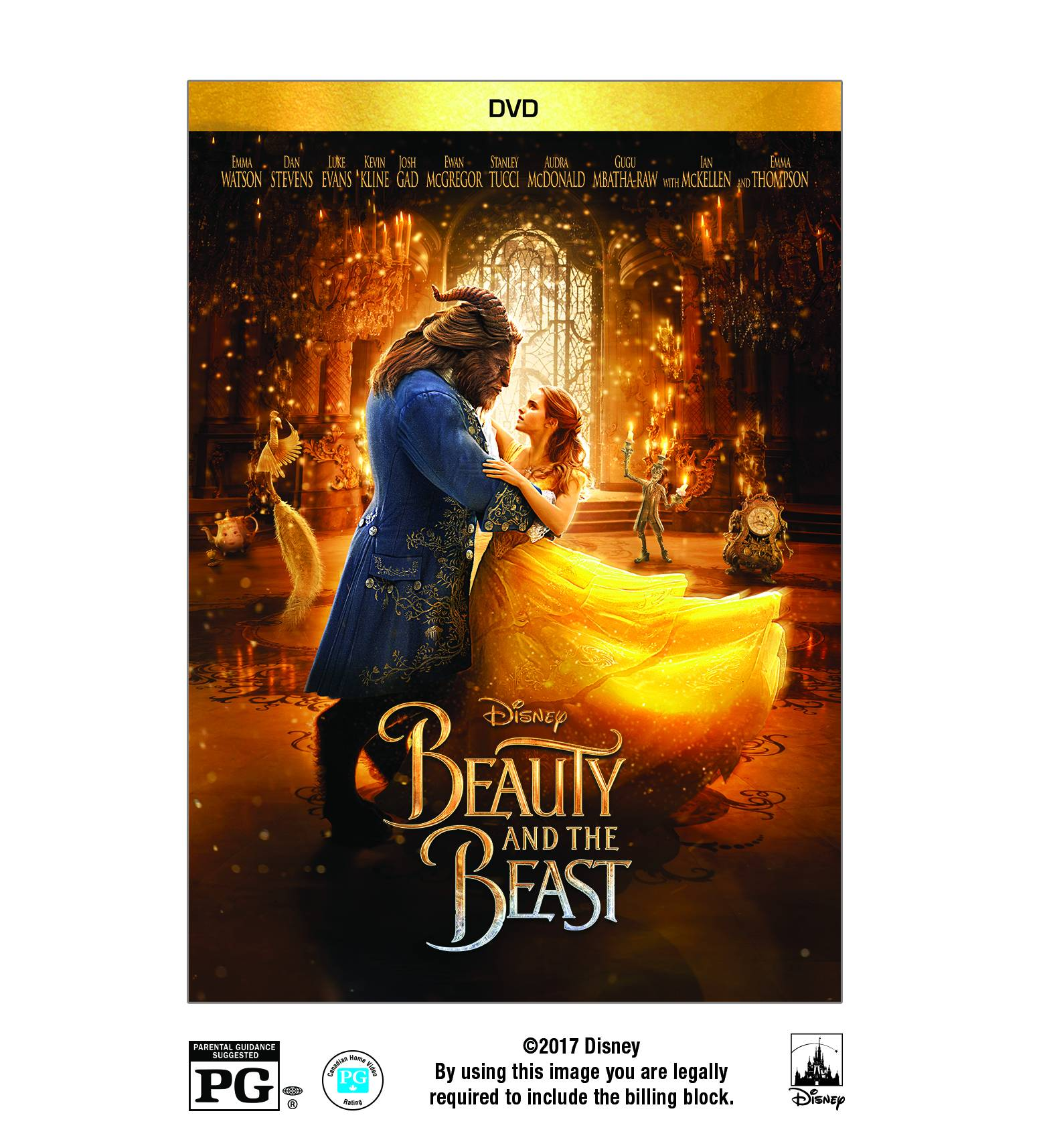 Beauty And The Beast (Live Action) (DVD) by Walt Disney Home Video