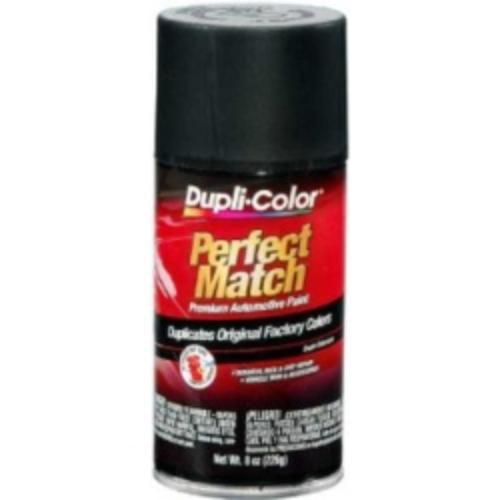 Krylon BUN0090 Perfect Match Automotive Paint, Universal Black Metallic, 8 Oz Aerosal Can