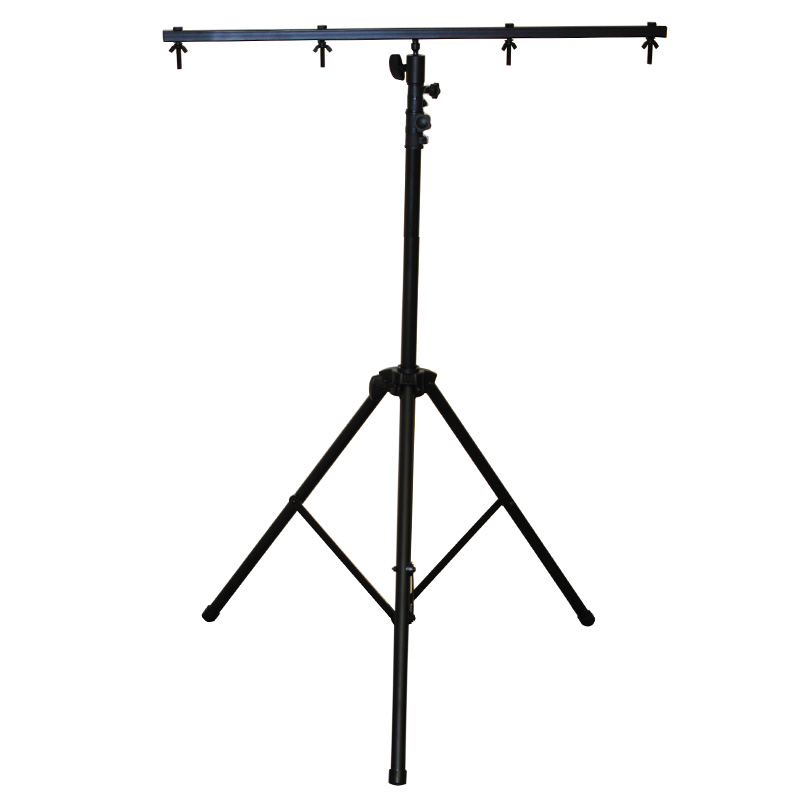OPTIMA 9-ft. PRO Tripod with T-Bar DJ Heavy Duty Lighting Stand by