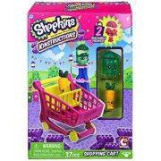 Shopkins - Kinstructions Shopping Cart Mini Pack, Freezy Peasy and Wild Carrot