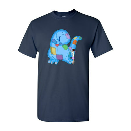 Fighting Extinction Dinosaur Tanya Ramsey Artworks Art DT Adult T-Shirt Tee