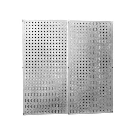 Galvanized Steel Metal Pegboard Pack - Two Pegboard Tool -