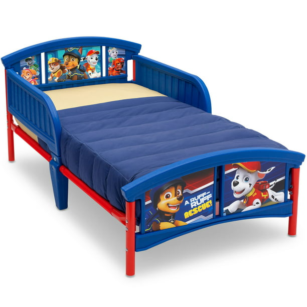Delta Children Nick Jr. PAW Patrol Plastic Toddler Bed, Blue