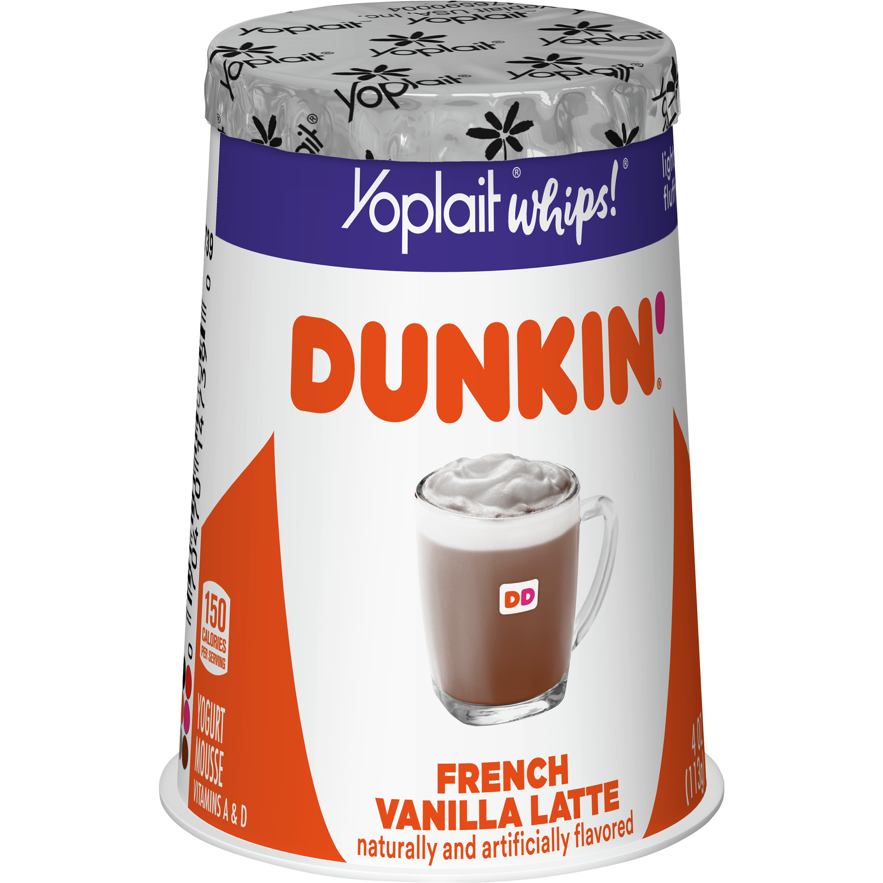Dunkin' French Vanilla Latte Yogurt