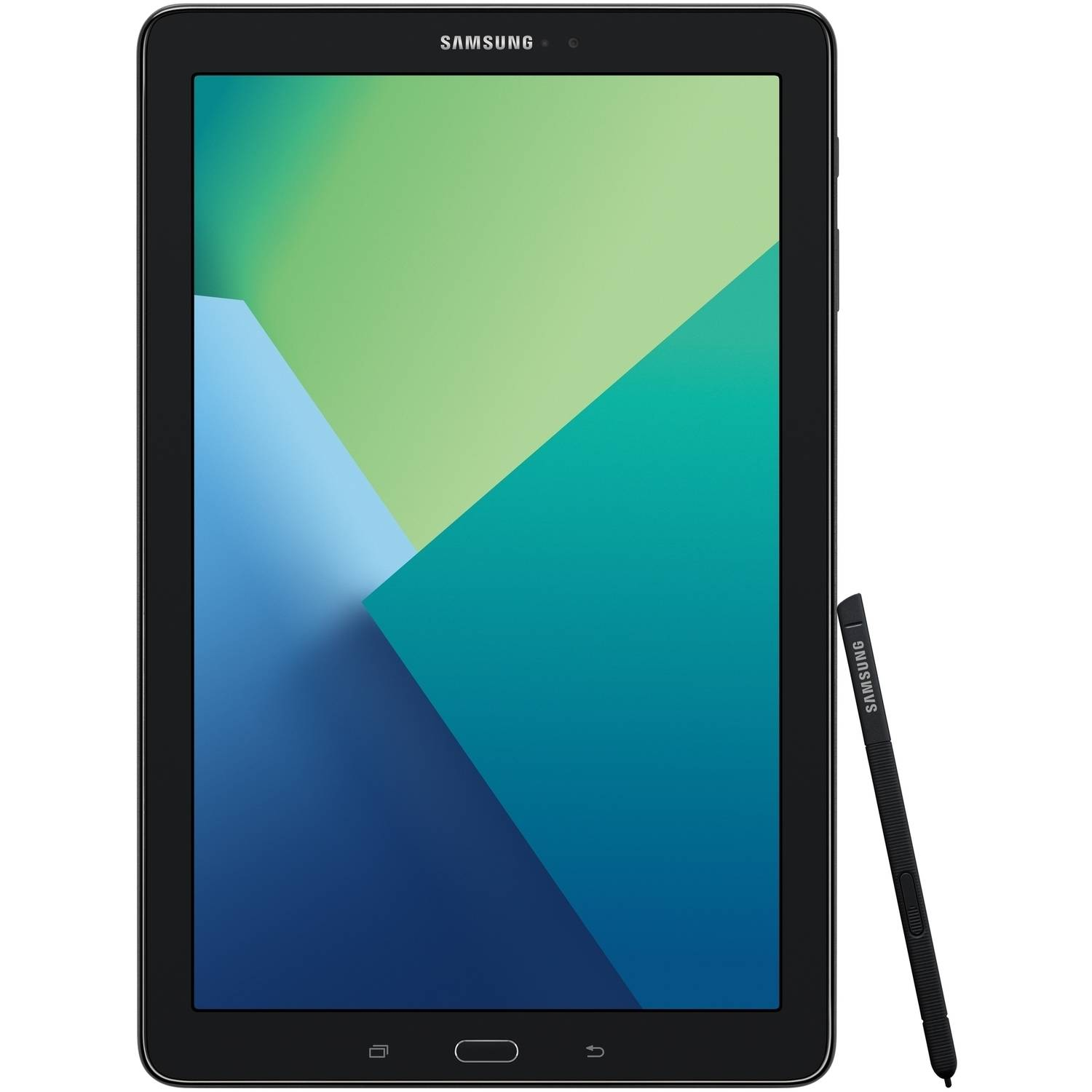 SAMSUNG Galaxy Tab A 10.1 16GB Android 6.0 WiFi Tablet Black - S Pen - Micro SD Card Slot - SM-P580NZKAXAR