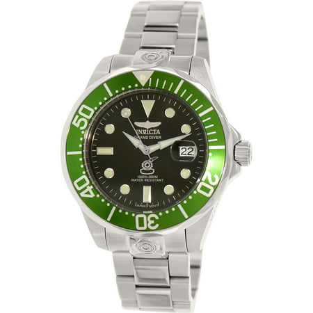 Invicta Men's Pro Diver 3047 Silver Stainless-Steel Automatic Self Wind Diving Watch