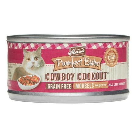 (Merrick Purrfect Bistro Grain-Free Cowboy Cookout Wet Cat Food, 3 oz)